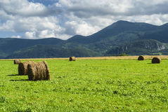 Country landscape in Midi-Pyrenees (France) Stock Images