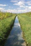 Country landscape near Morimondo (Milan) Stock Photography