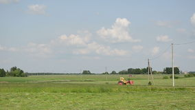 Country landscape stock footage