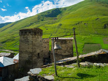 Country landscape in Svaneti Stock Image