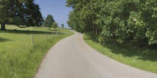 Country lane Stock Photos
