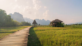 Country in laos. Travel Vangvieng in Laos it is butiful country Stock Image