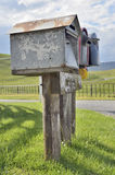 Country letterbox Royalty Free Stock Photography