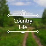 Country Life background Stock Photo