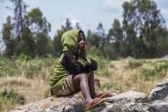 Country life in burundi. Child africa Stock Photography