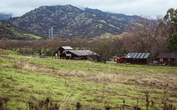 Country Life California In the Hills stock image