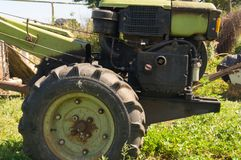 Country life. Tractor. Ukraine. royalty free stock photography