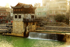 The country life of Qianzhou ancient town Stock Photography
