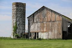 Country living, old barn stock images