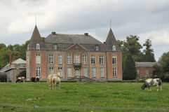 Country manor, ardennes Stock Image