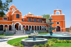 Country Mansion in Peru Stock Image