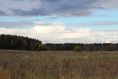 Country Meadows in October Royalty Free Stock Photos