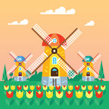 Country-Mill-Flat Stock Images