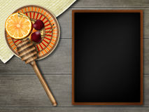Country mockup. Rustic still life. Kitchen desk. Royalty Free Stock Photography