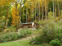 Country mountain house. Royalty Free Stock Photos