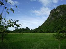 Country is mountain in Thailand Royalty Free Stock Image