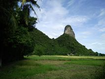 Country is mountain in Thailand Royalty Free Stock Photo