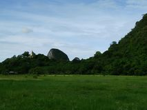 Country is mountain in Thailand Stock Image