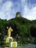 Country is mountain in Thailand Royalty Free Stock Images
