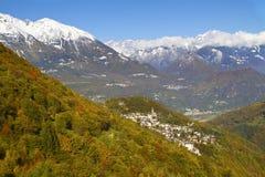 Country of mountains Stock Photos