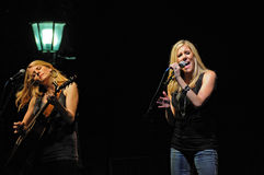Country Music Duo Kate and Kacey Royalty Free Stock Photos