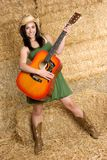 Country Music Girl Stock Images