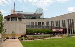 Country Music Hall of Fame, Nashville Tennessee. The Country Music Hall of Fame and Museum identifies and preserves the evolving history and traditions of Royalty Free Stock Photography