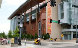 Free Country Music Hall Of Fame, Nashville Tennessee Stock Photography - 41075192