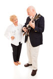 Country Music Seniors Royalty Free Stock Images