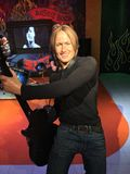 Country Music Superstar Keith Urban in wax Royalty Free Stock Photography