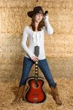 Country Music Woman stock images