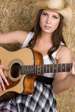 Country Music Woman Stock Image