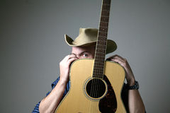 Country musician Royalty Free Stock Photo