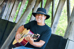 Country Musician Stock Image