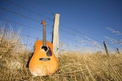 Country muzieklandschap stock afbeeldingen