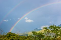 Country Natural Rainbow Stock Image