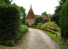 Free Country Oast House Royalty Free Stock Photography - 5285897