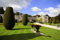 Country old house of Lanhydrock, Bodmin, UK Stock Photos