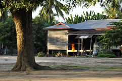 Country Old House Thailand Style Vintage Retro Stock Photo