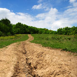 Country Path Stock Photos