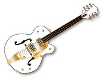 Country Pickers Guitar Stock Photo