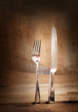Country place setting. Stock Photography