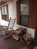 Country porch stock photos