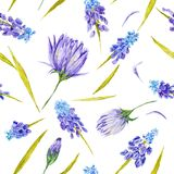 Country Provence Vintage Romantic Pattern Stock Image