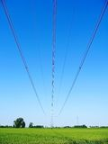 Country Pylon Stock Image