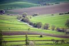 Country in the region Liptov, Slovakia Royalty Free Stock Photos