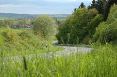 Country road. Sunny day Stock Image