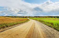 Country road. Stock Images