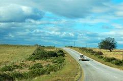 country road Стоковое фото RF