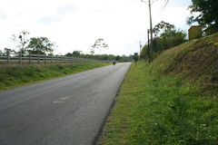 Country Road. A road near La Fortuna. Costa Rica Stock Photo